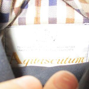 aquascutum Jackets & Coats - Aquascutum Check & Navy Blue Reversible Vest 14